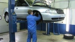 Hyundai accent замена масла в АКПП видео